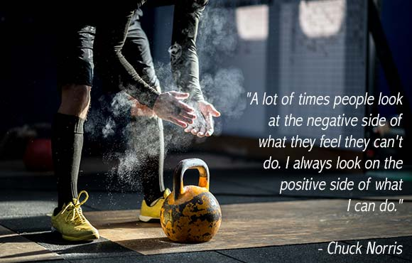 Positivity chuck norris